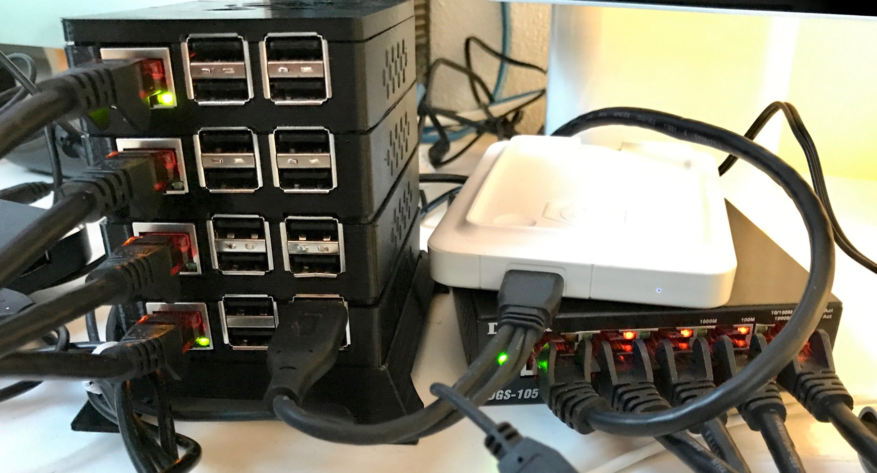 Running a Docker Swarm on a Raspberry Pi Cluster